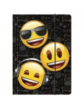Emoji A4 gumis mappa - Smiley