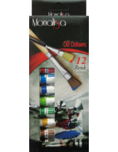 Olajfesték 12 szín Mona Lisa