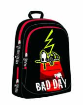 Bad Day iskolatáska, hátizsák - Snoopy