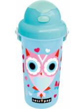 Lollipop Blue Owl baglyas kulacs