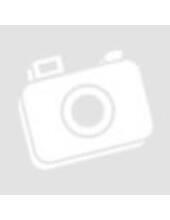 Tűzőgép mini - fekete-fehér virágos - Cre Art - ajándék tűzőkapoccsal