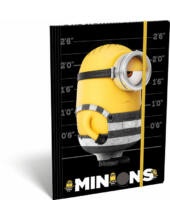 Minion A4 gumis mappa - Stripe