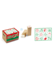 Karácsonyi nyomda - Cre Art jutalmazó fa bélyegző - 12 minta / csomag