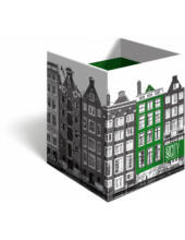 Asztali ceruzatartó - Geo City - Amsterdam