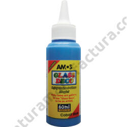 kék Amos üvegmatrica festék