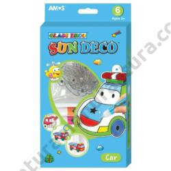Járművek autós üvegmatrica festék készlet - Amos