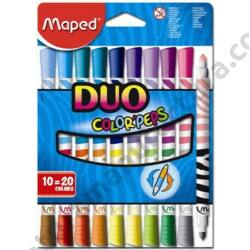 Filctoll készlet Maped Color Duo 20 szín
