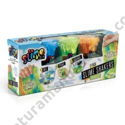 So Slime Shaker Slime készítő 3 db-os szett fiús