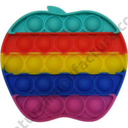 Pop it fidget stresszoldó játék - Rainbow - alma