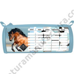 Geo Horse Snow lovas hengeres tolltartó órarenddel