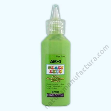 világoszöld Amos üvegmatrica festék
