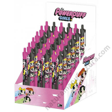 Pindúr Pandúrok golyóstoll - kétféle színű tolltest - Powerpuff Girls