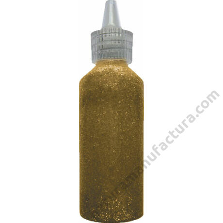 Amos Csillámragasztó 22 ml - arany