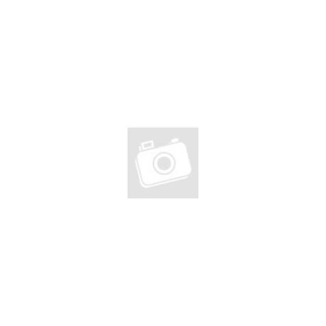 Mood polip - kifordítható plüss polip - zöld-lila LED-es